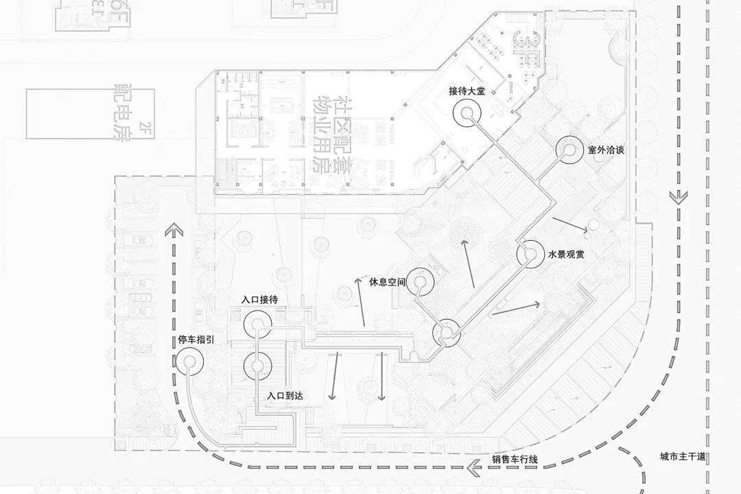 蚌埠融创山水宸院营销中心建筑设计 / 中房建筑