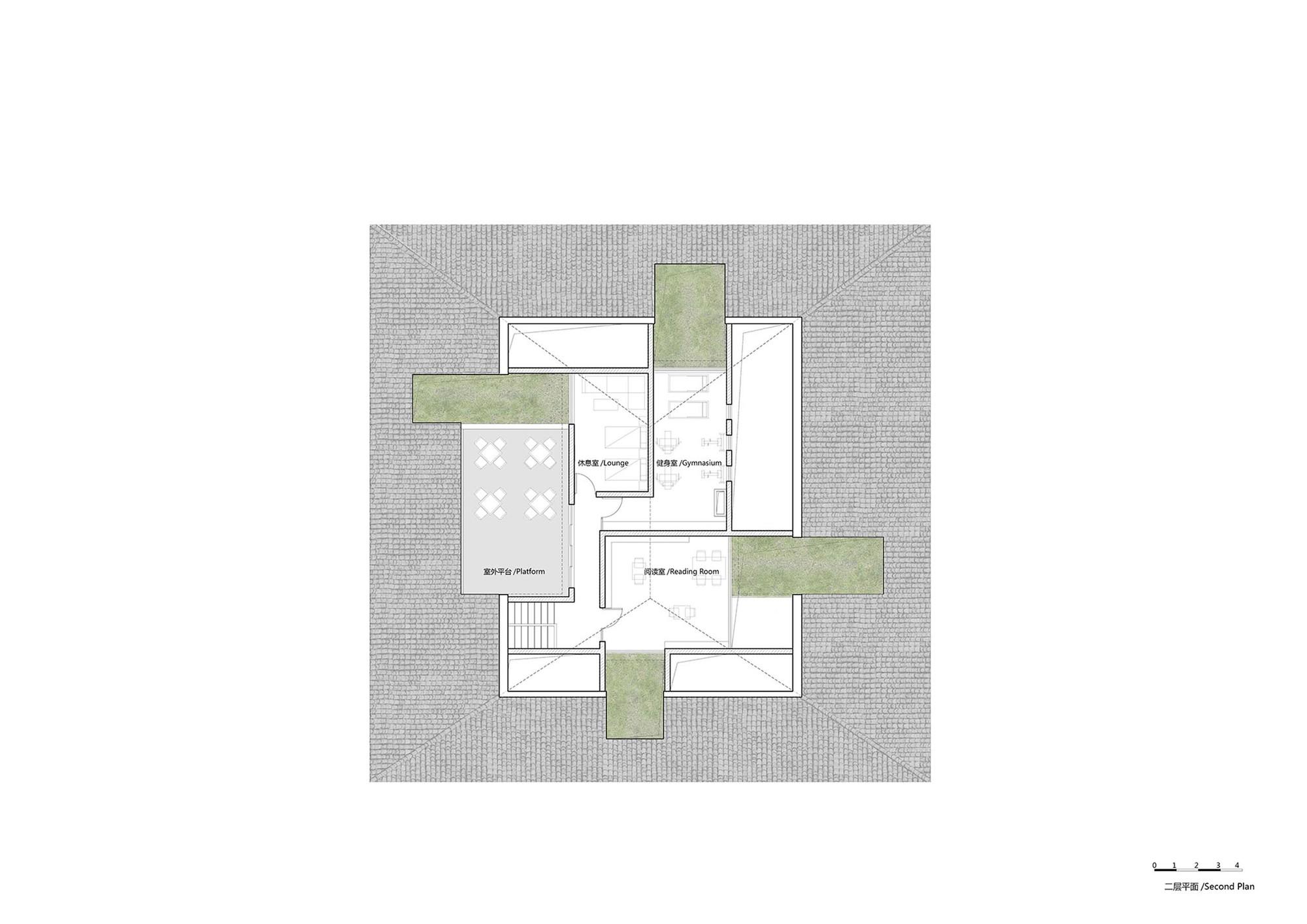 四川小石村文化大院建筑设计 / 时地建筑工作室