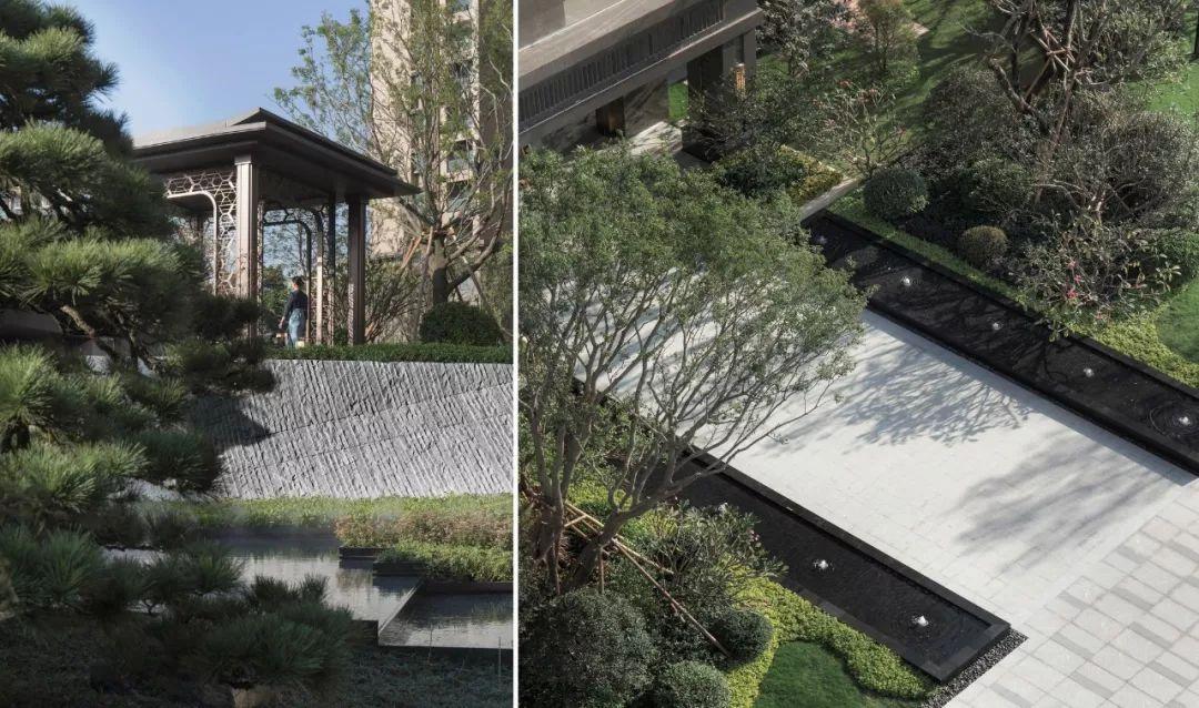 广州世茂·天鹅湾大区景观设计 / 广亩景观