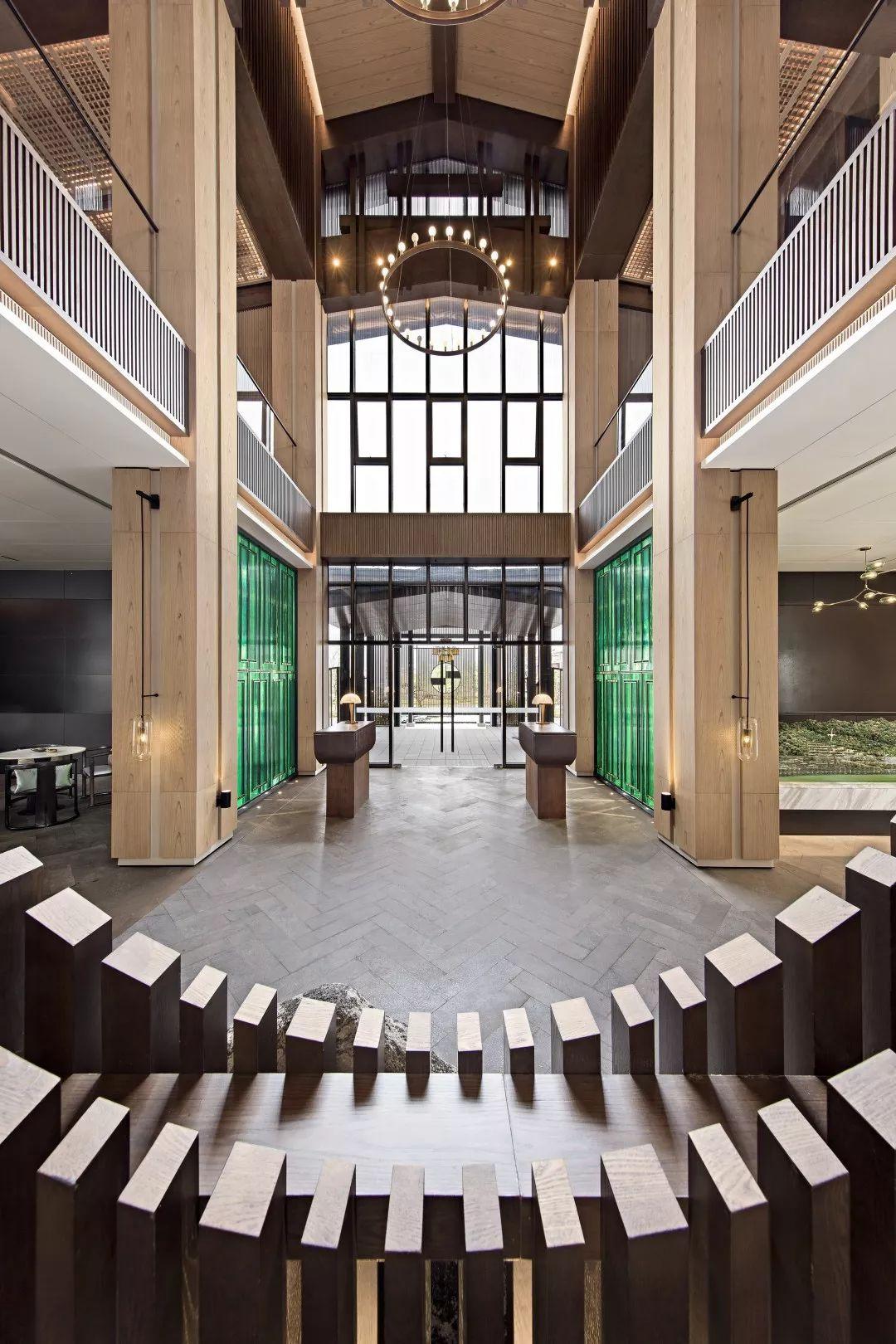 崇义绿邦合一山居销售中心室内设计 / 矩阵纵横