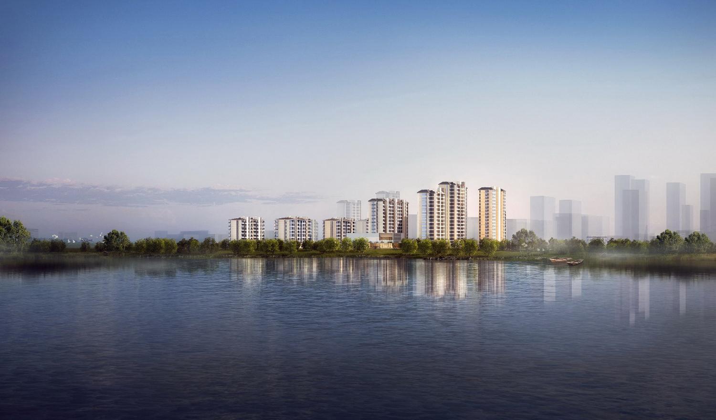 合肥徽创•君泊项目体验区建筑设计 / 上海天华建筑2A所
