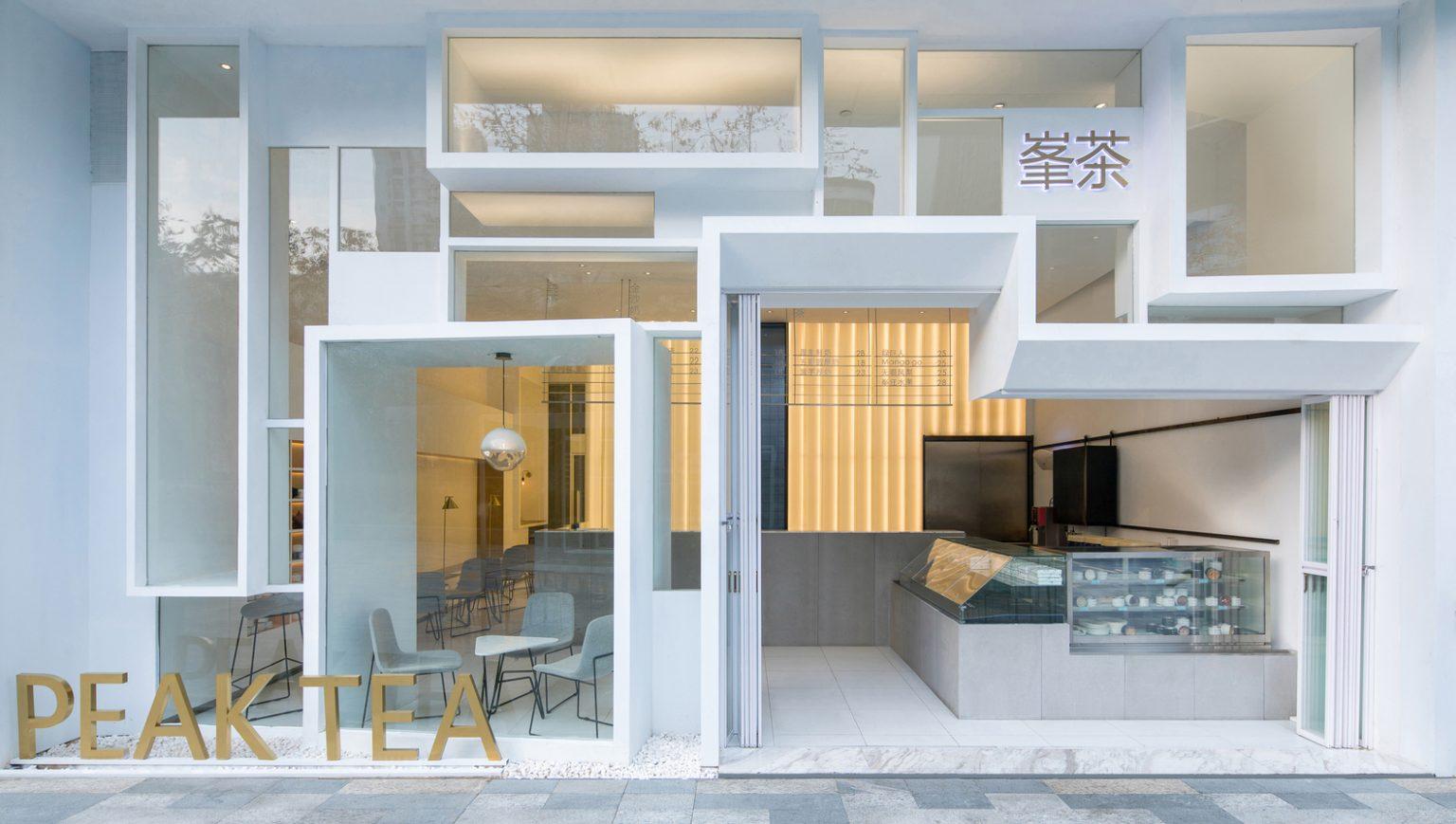 """深圳·""""PEAK TEA峯茶""""茶饮店(海雅缤纷城店)设计 / 一乘建筑"""