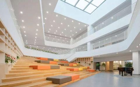 上海师范大学附属实验小学嘉善校区室内letou国际米兰下载 / 和立建筑实践 Inclusive Architectural Practice