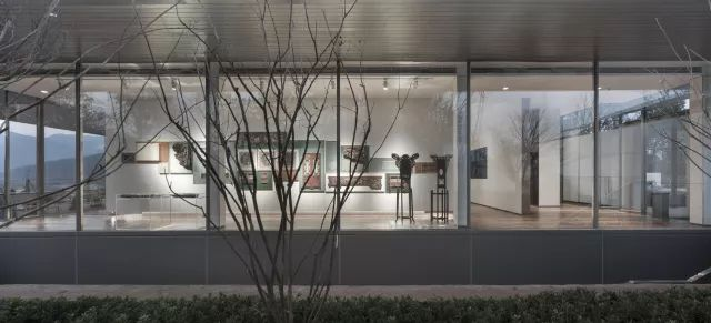 义乌绿城桃花源生活美学馆建筑设计 / 九米设计
