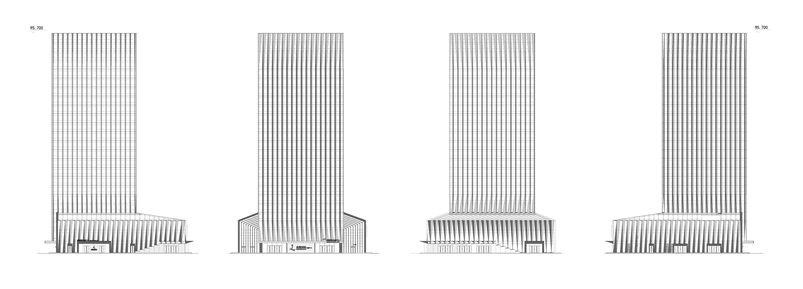 临沂政能国际金融中心建筑设计 / 出品建筑