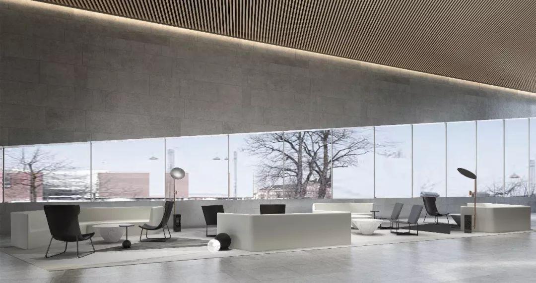 温州万科翡翠艺术馆室内设计 / 乐尚设计