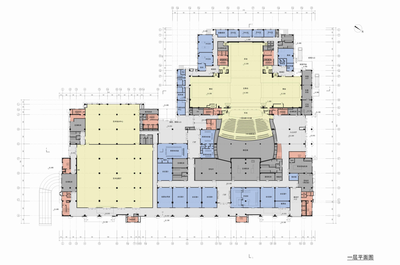 厦门市嘉庚艺术中心建筑设计 / 同济设计