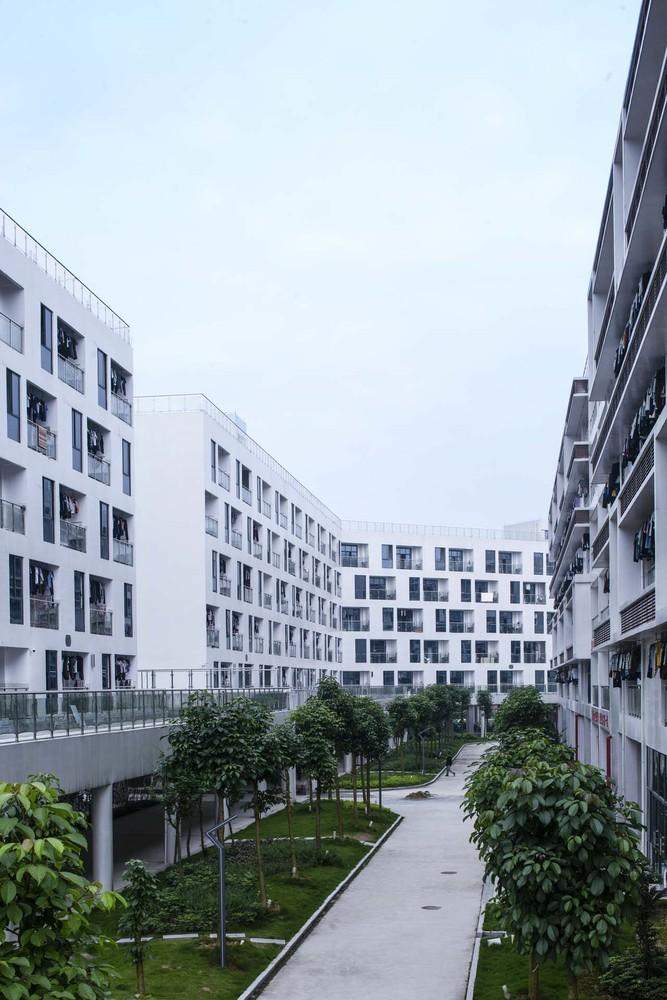 融安县中学教育集中区学生宿舍建筑规划设计 / 上海交通大学设计研究总院