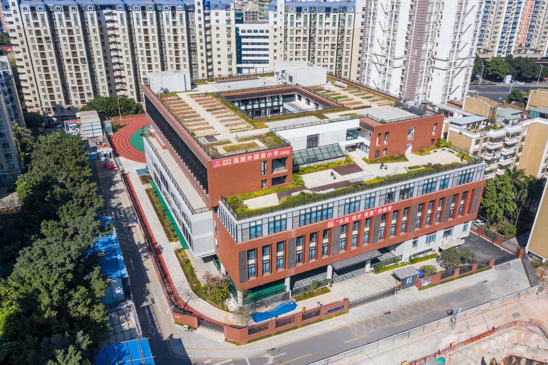 深圳荔园外国语小学北校区建筑设计 / 欧博设计