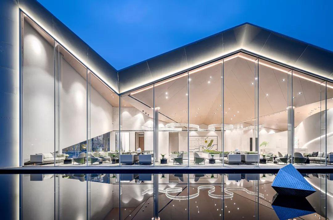 重庆新城琅翠销售中心室内设计 / 牧笛设计