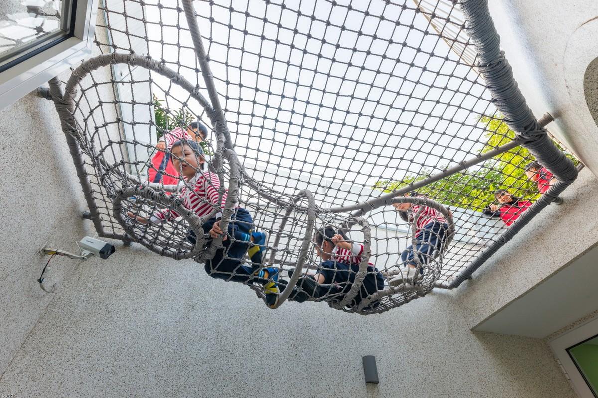 上海豌豆屋幼儿园改造设计 / 上海力本建筑设计事务所
