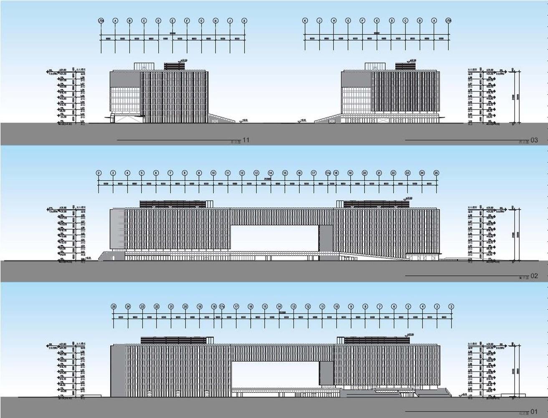 上海建滔中心建筑设计 / Aedas