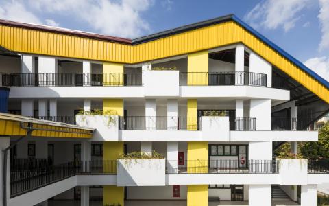 越南Da Hop幼儿园+小学建筑letou国际米兰下载 / 1+1>2 Architects