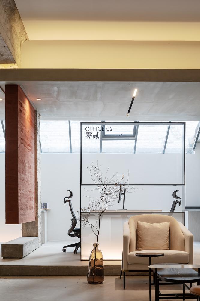 栖刻建筑设计事务所办公室室内设计 / 栖刻建筑设计