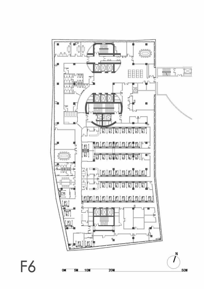 上海同济大学附属东方医院建筑设计 / Lemanarc SA