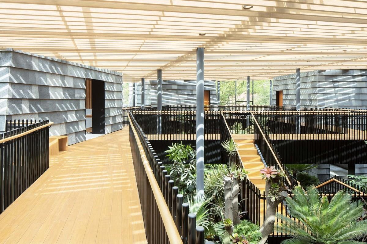 承德 森之谷温泉中心建筑设计  / B.L.U.E. 建筑设计事务所