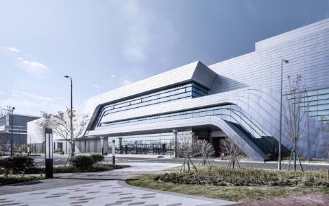 上海老港再生能源利用中心二期工程   建筑letou国际米兰下载 / 同济letou国际米兰下载
