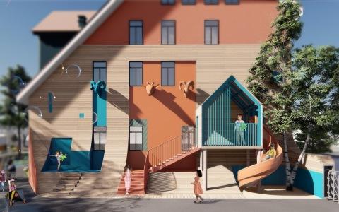 天津Lion莱恩森林国际幼稚园 / 西安迪卡幼儿园letou国际米兰下载中心