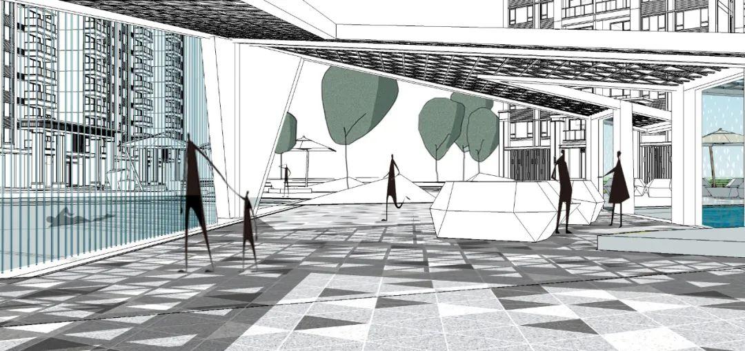 阳江美的 · 未来中心景观设计 / DDON笛东