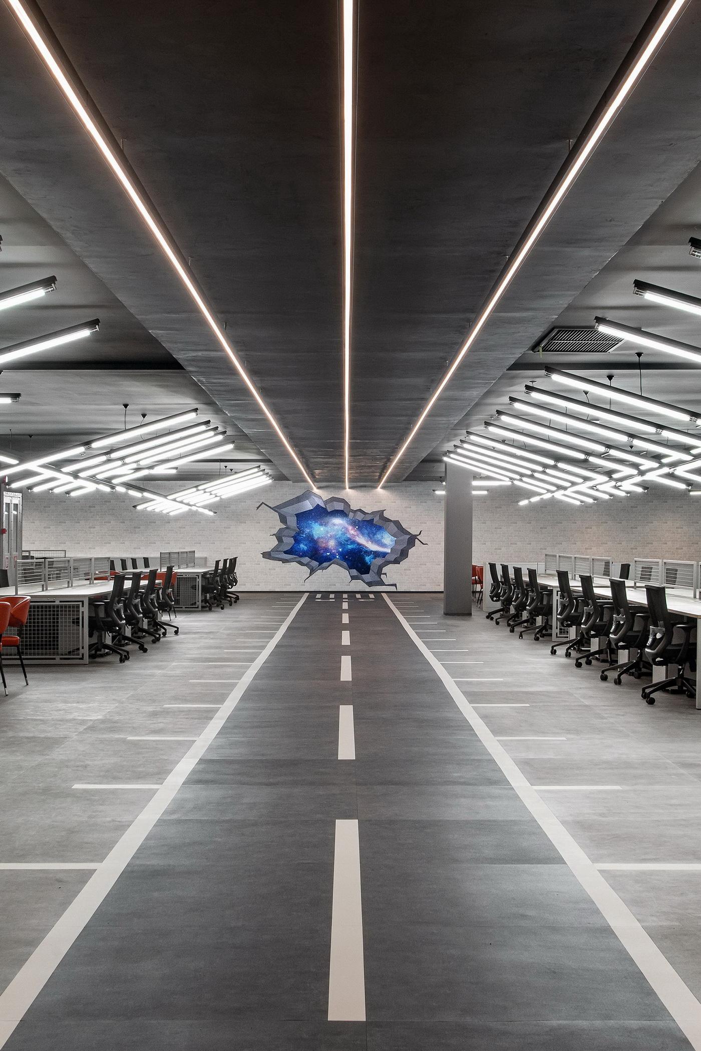 馬來西亞 亞航子公司聯合辦公空間 室內設計 / ELTO Consultancy