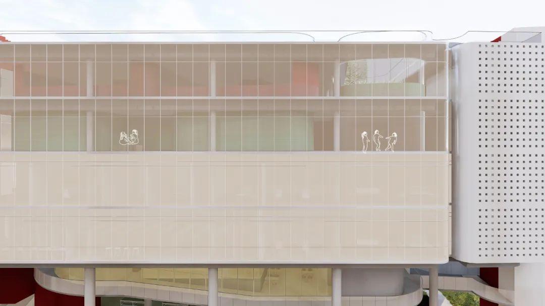 深圳罗湖区东昌小学改造竞赛 建筑设计 /  Say Architects + RED