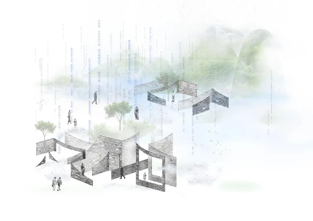 重庆云山小镇 室内空间设计 / CROX闊合