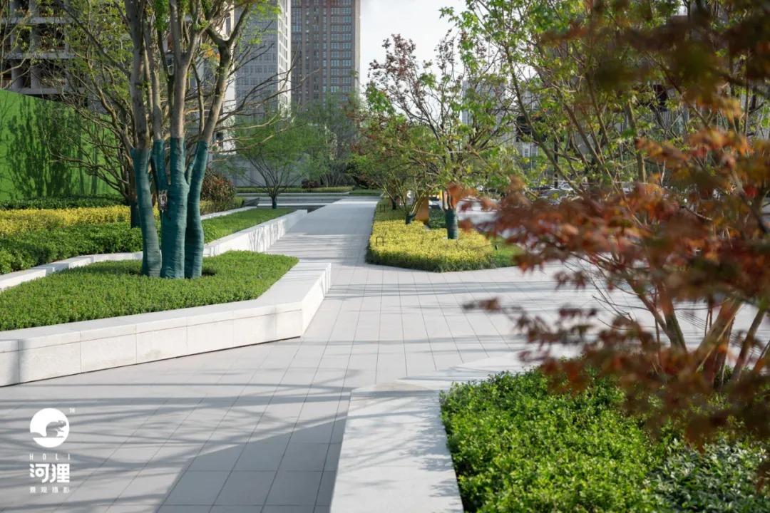 杭州 新希望·华发·锦粼云荟院 景观设计 /  致澜景观
