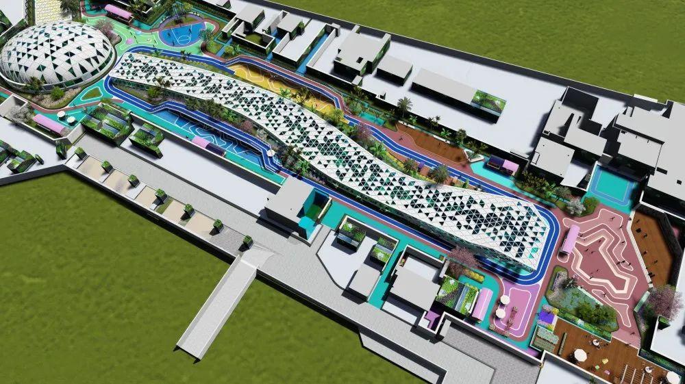 瑞安新城吾悦广场景观设计 景观设计 / 中星志成