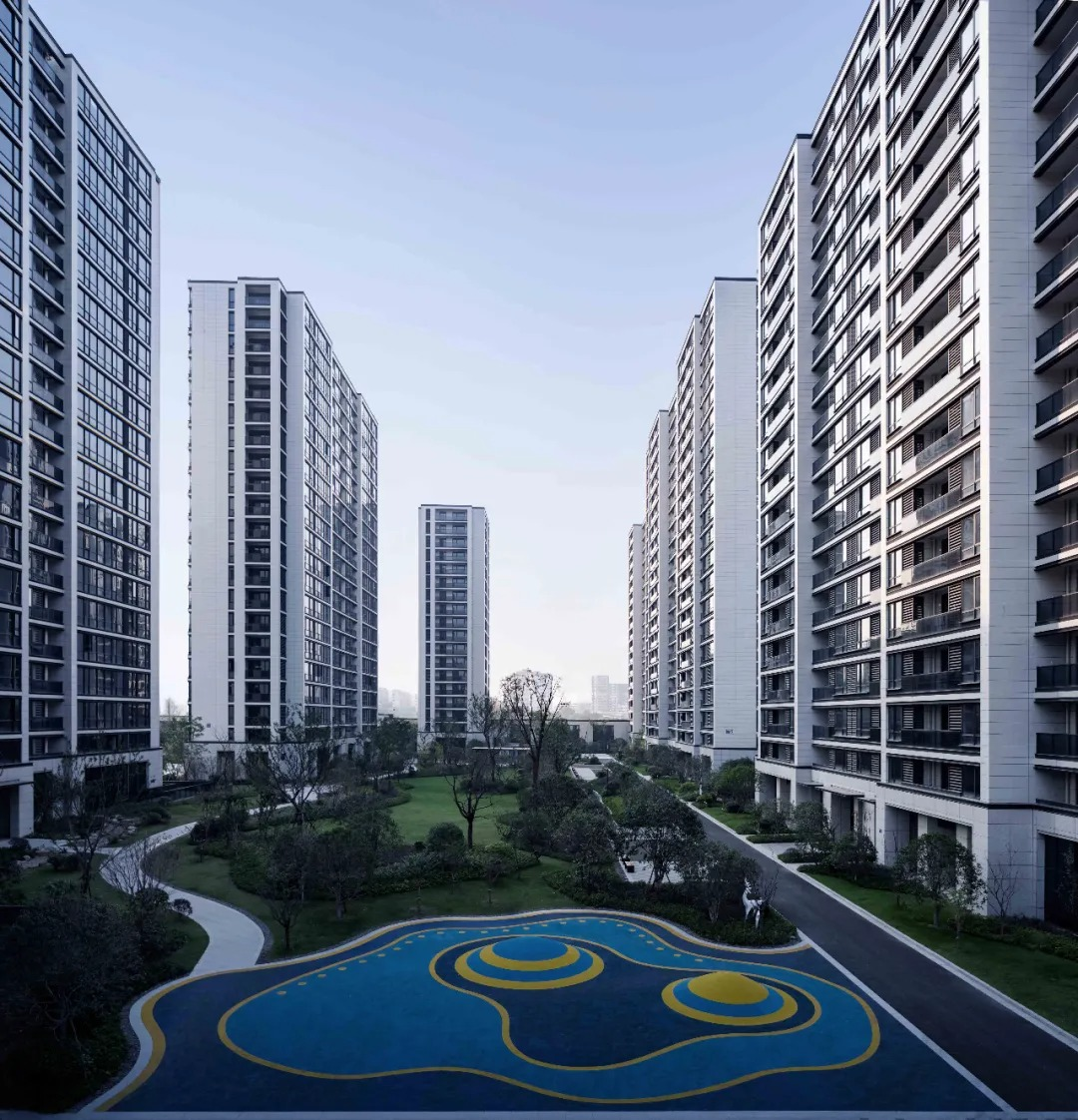 杭州海潮雅园 建筑设计 /  GLA