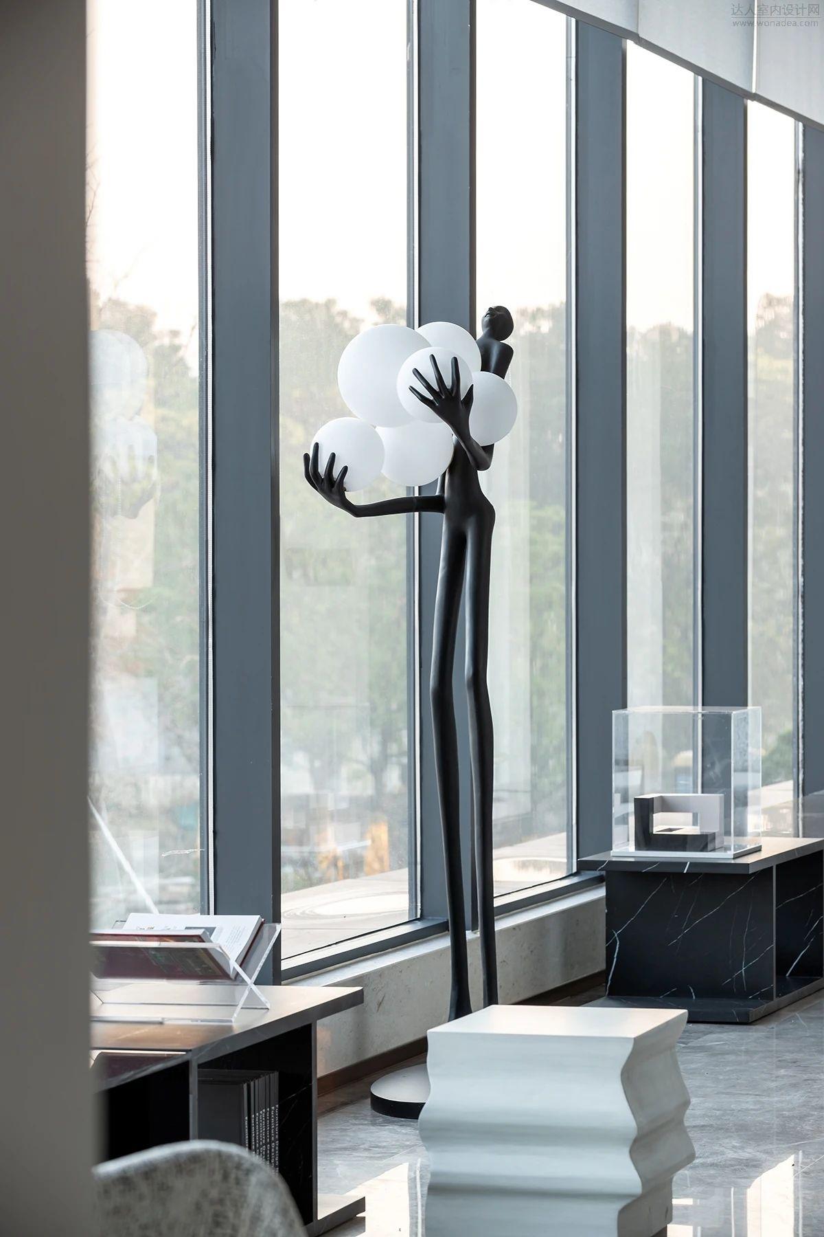 奥园湖州道场乡营销中心与样板间 室内设计 / 观致设计