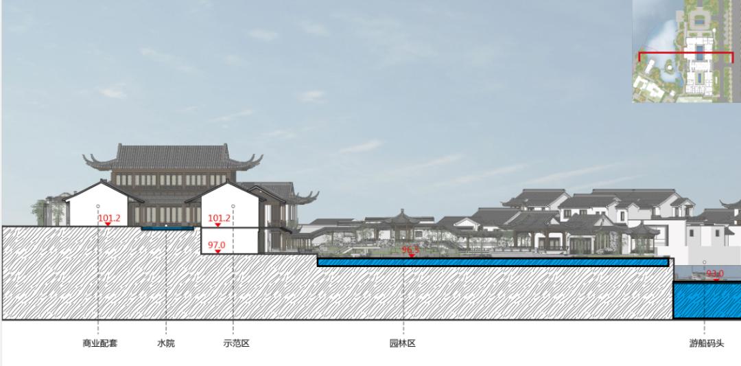 青岛·蓝城桃李春风生活体验区 建筑设计 / ZSD卓时