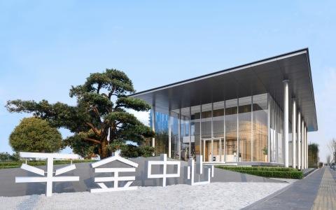 上海平金中心展示中心建筑letou国际米兰下载 / 骏地letou国际米兰下载