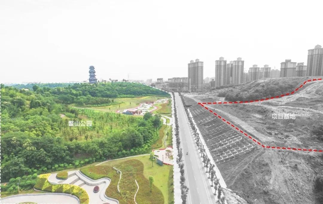 简阳锦官天宸项目示范区 建筑设计 / 基准方中