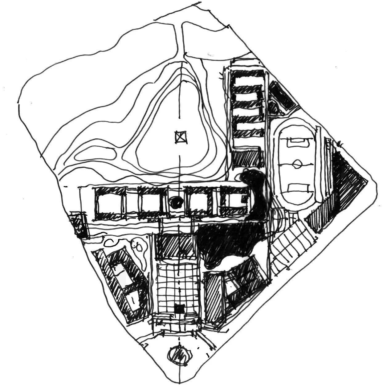 金华武义一中迁建工程校园规划项目 建筑设计 /  TJAD同济设计