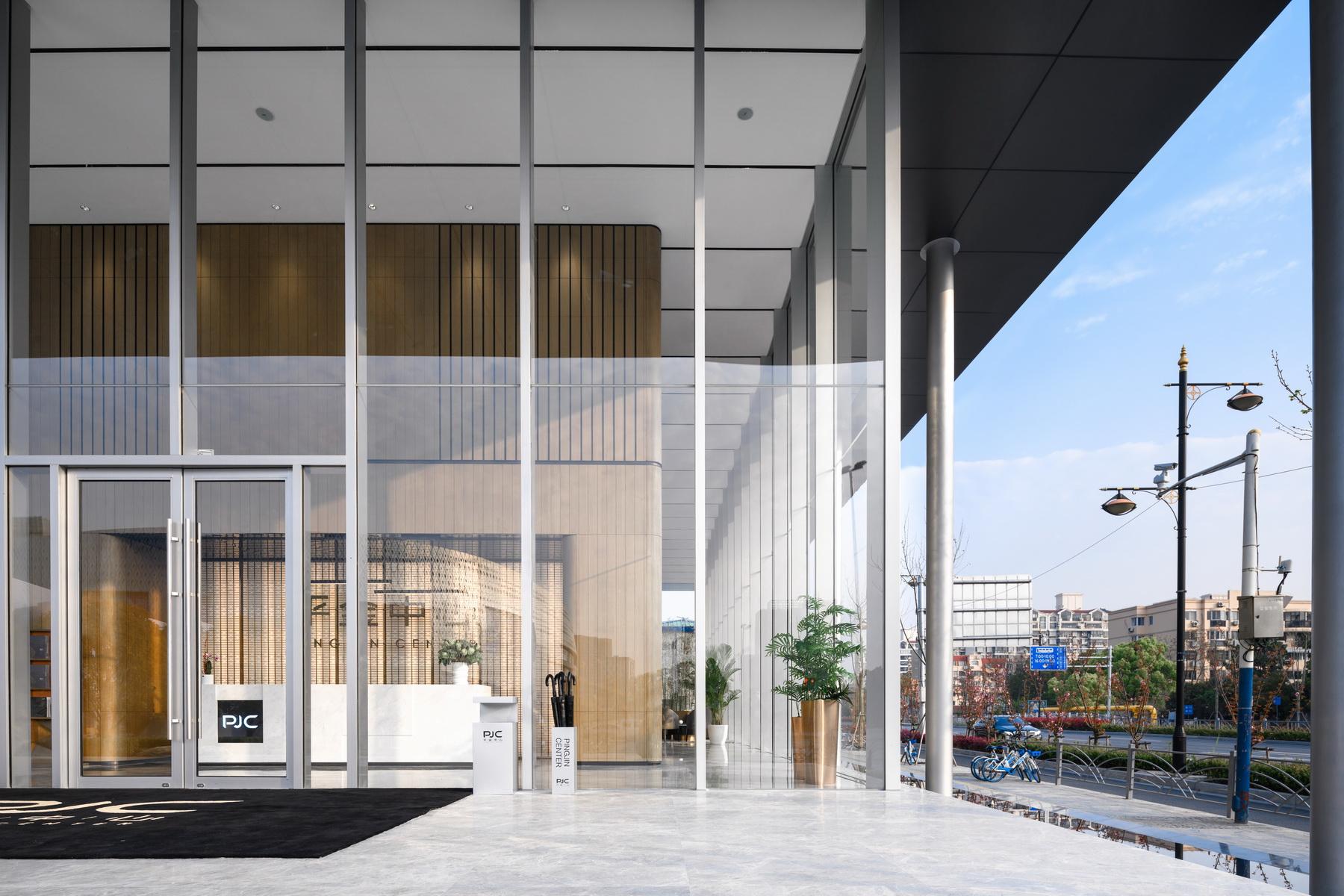 上海平金中心展示中心建筑设计 / 骏地设计