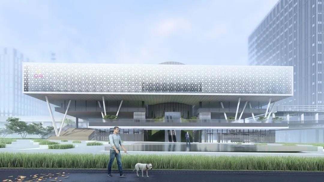 启迪协信科技园18栋B座外立面改造设计 / 一境设计