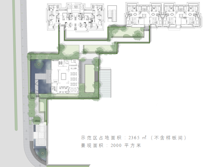 杭州沁澜雅轩 示范区 景观设计/ QIDI栖地设计