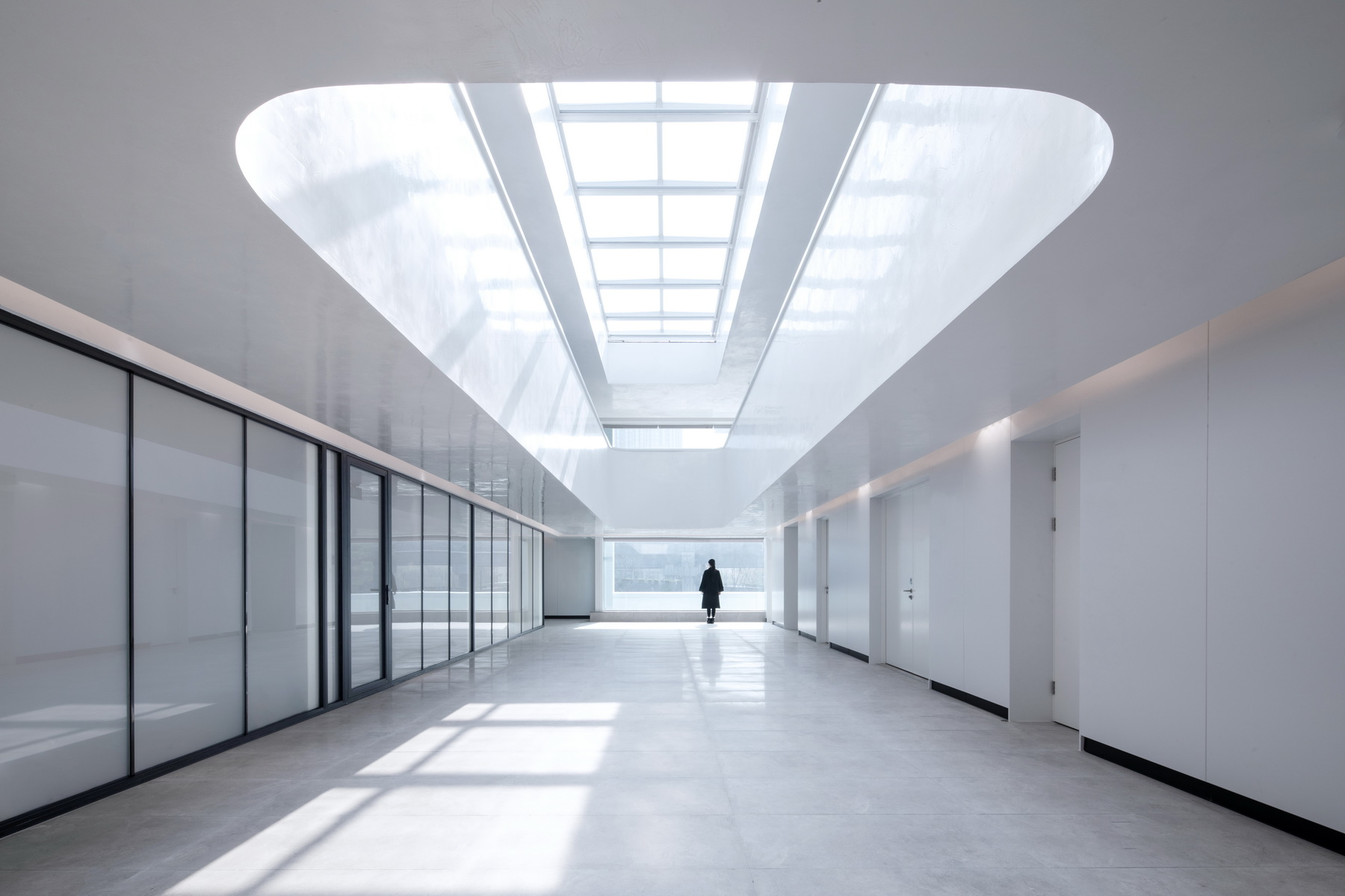 """杭州 """"网谷之眼""""拱墅区智慧网谷小镇展示中心 建筑设计 / E+LAB"""