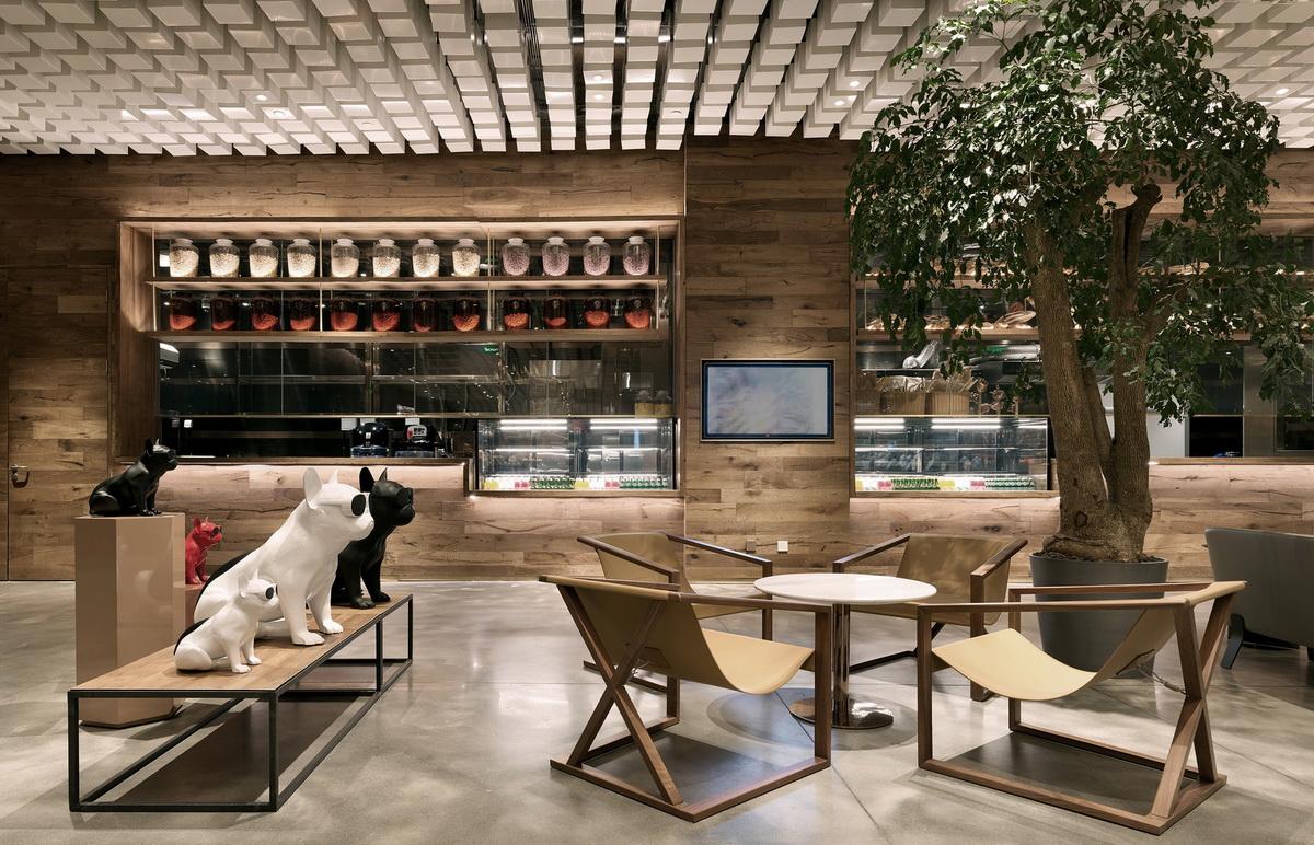 同仁堂—知嘛健康线下体验店 室内设计 / 北京无象空间建筑设计