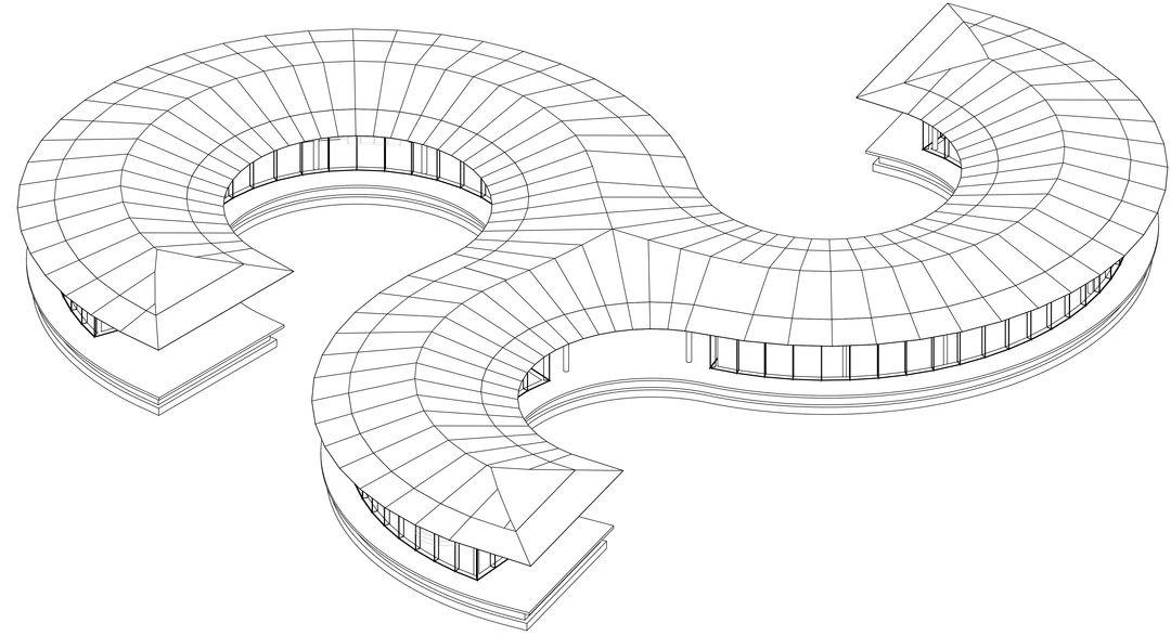 荣成市市民文化活动公园读书角 建筑设计 / 艺合境建筑设计事务所