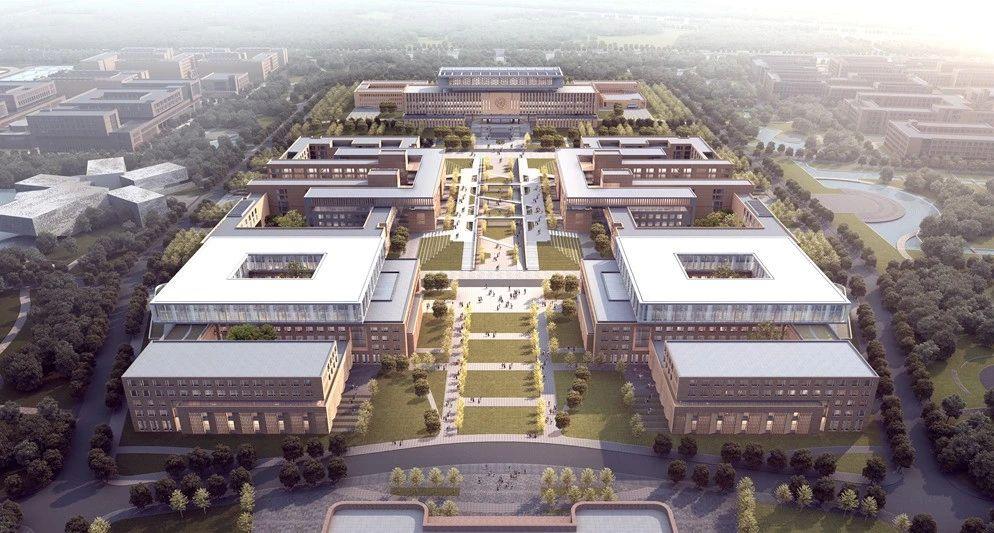 南开大学津南校区前沿交叉学科中心 建筑设计 / TJAD同济设计