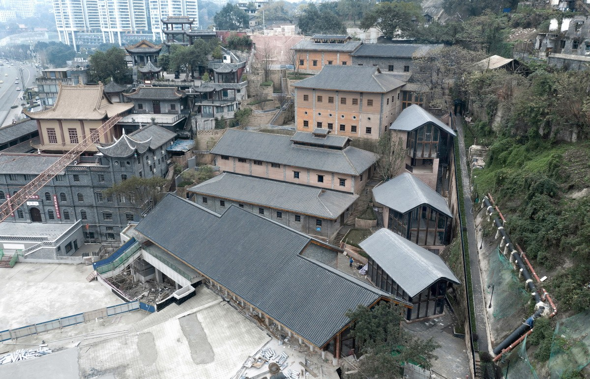 重庆故宫学院 (安达森洋行改造)建筑letou国际米兰下载 / 非常建筑