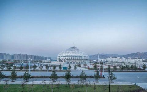 临夏民族大剧院 建筑letou国际米兰下载 /  杜兹letou国际米兰下载