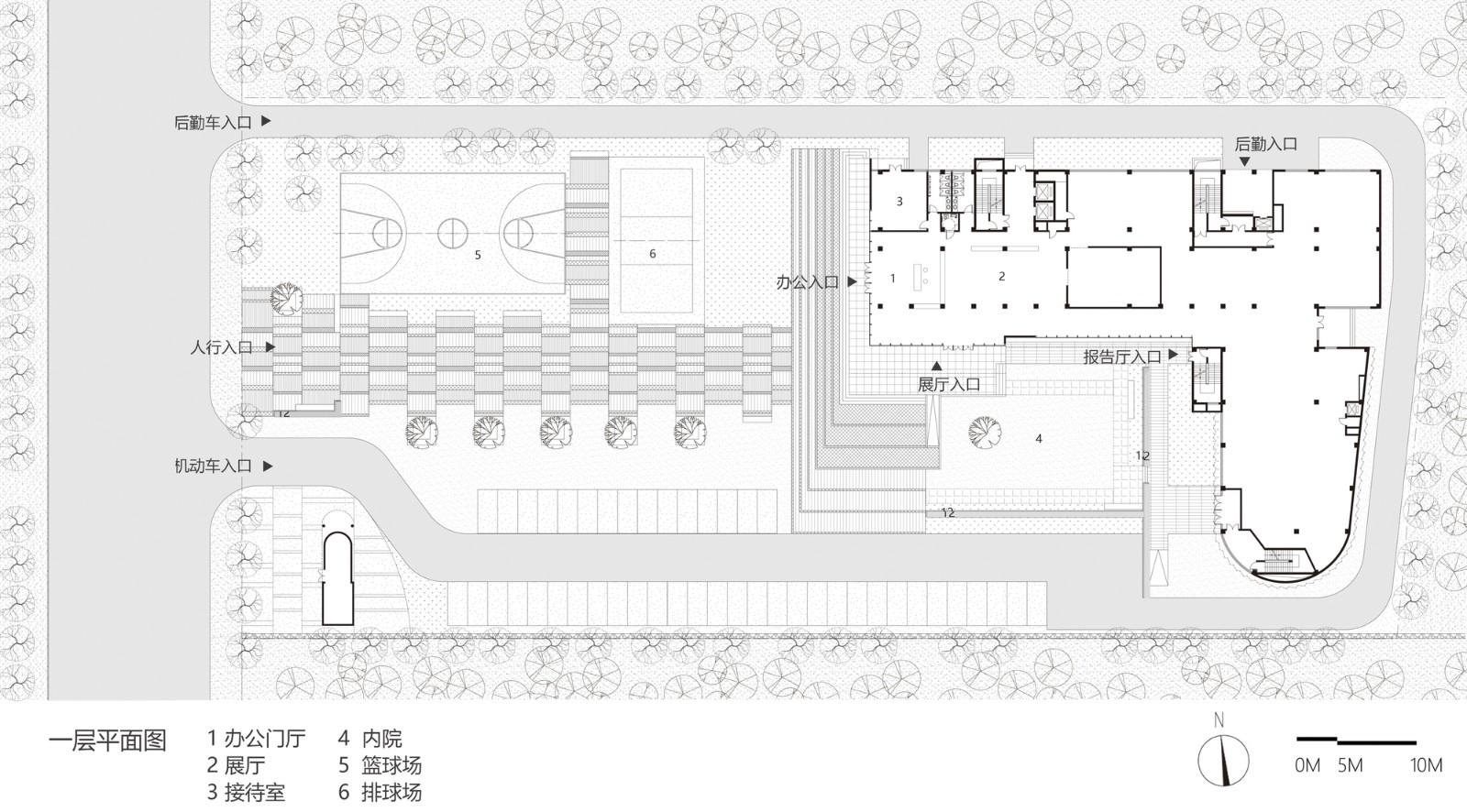 烟台海洋经济创新区总部基地 改造设计 / 水石设计