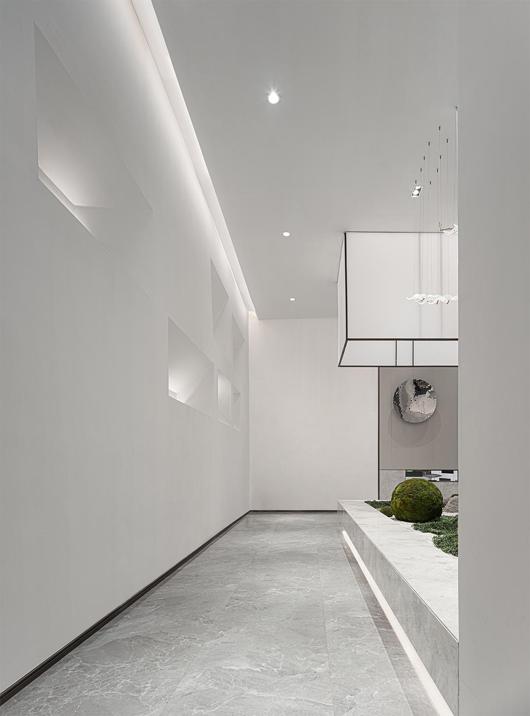 惠东海伦堡弘诚厚园销售中心 室内设计 /  EHOO易虎设计