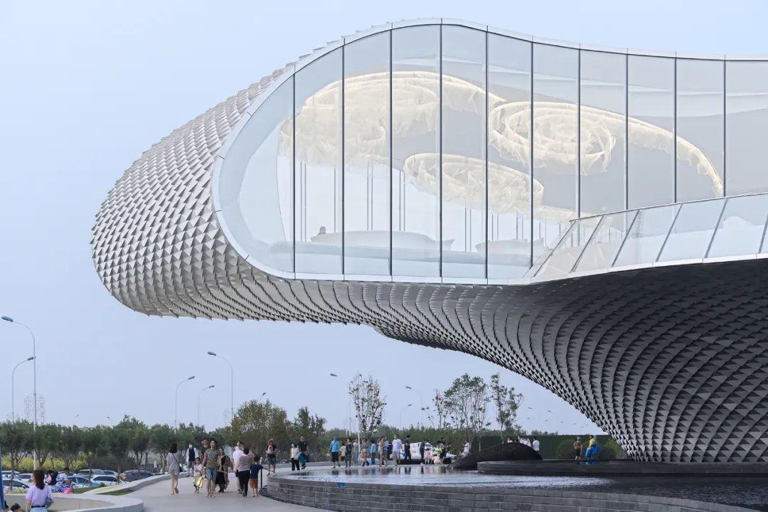 天津 世茂 · 浪花艺术馆 建筑设计 /  北京日清设计