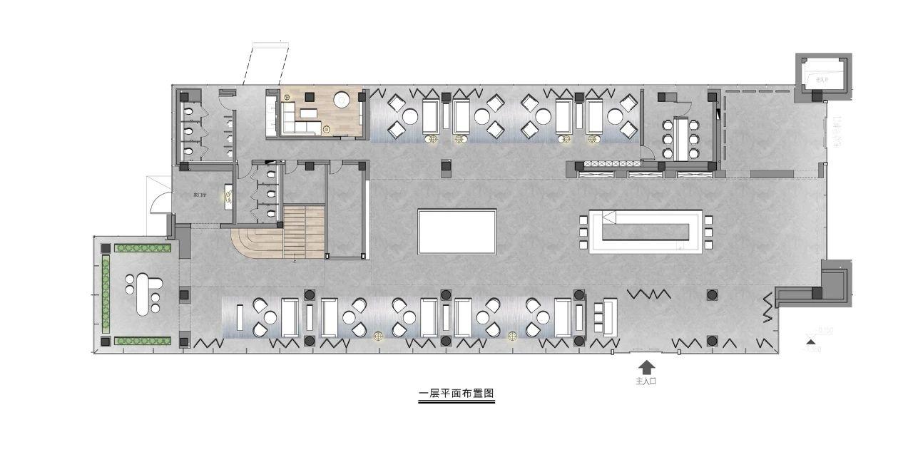 苏州 万科锦上和风华苑售楼处 室内设计 / 乐尚设计