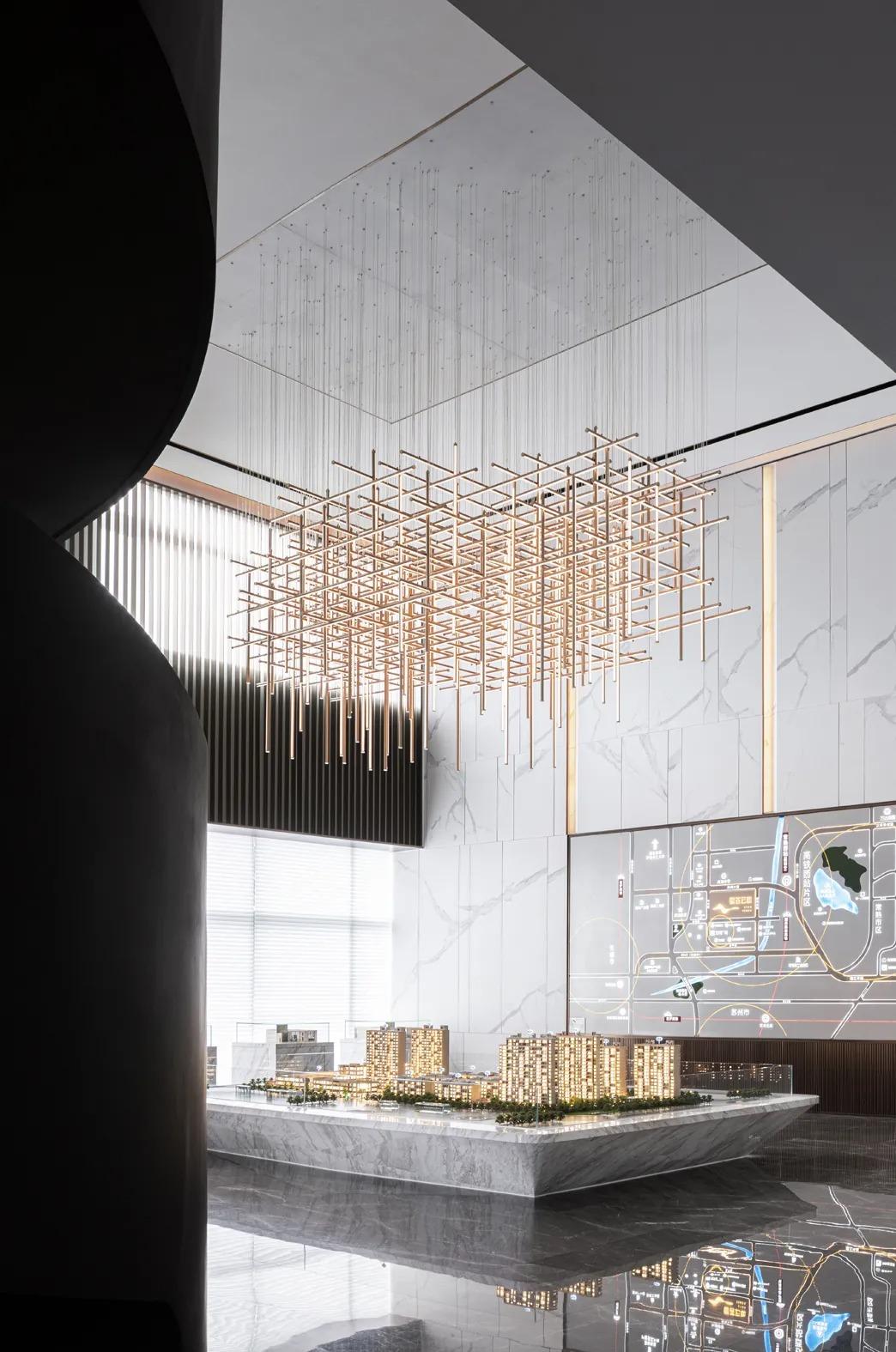 无锡 星荟云庭售楼处 室内设计 /  易和设计
