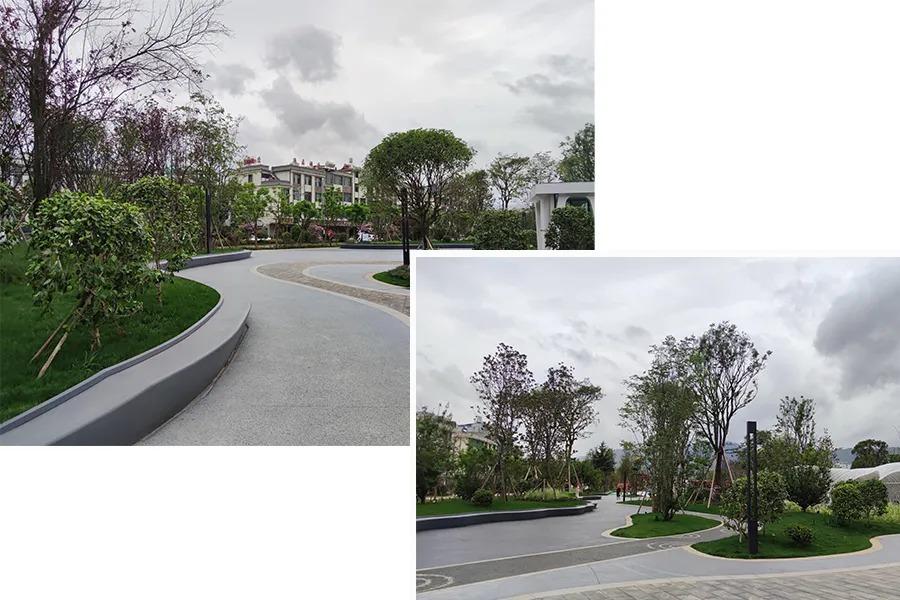 澄江环球融创·蔚蓝城 景观设计  /  蓝调国际
