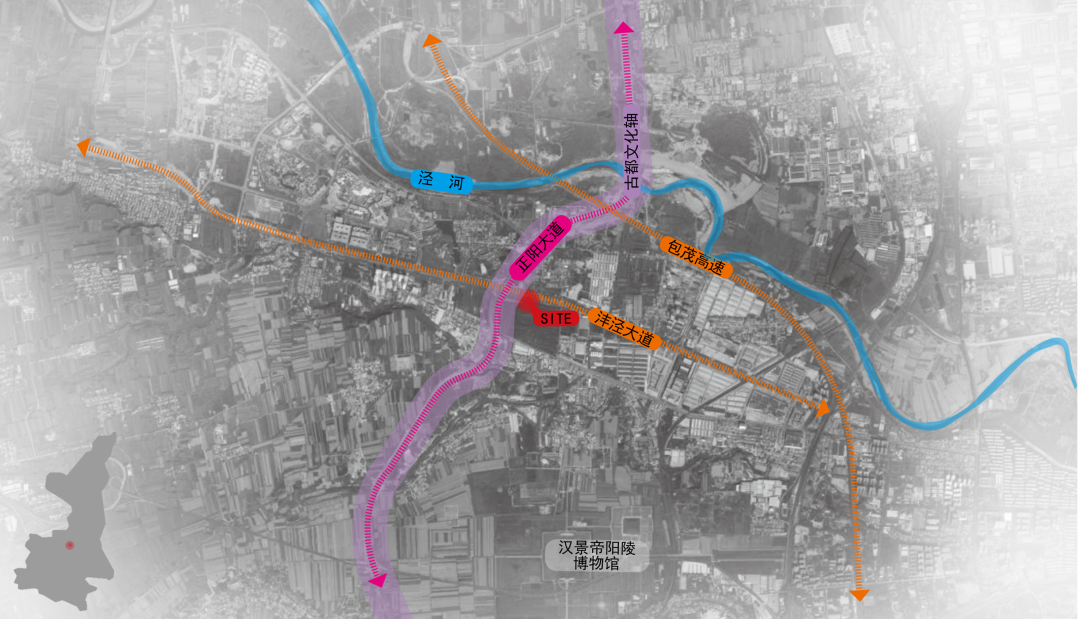 绿地泾河·智创金融城体验区  景观设计 /  墨刻景观